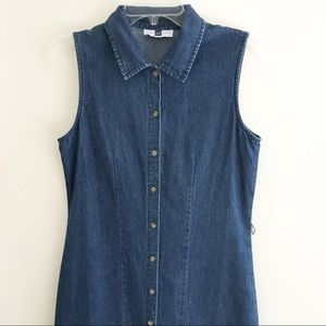Gap | Vintage Button Down Denim Dress